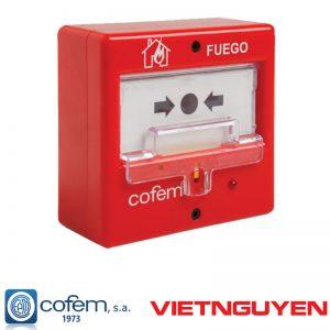 Nút nhấn khẩn cấp báo cháy cofem