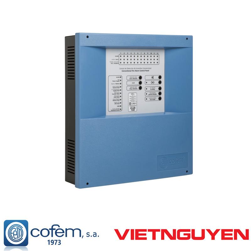Trung tâm báo cháy hệ thường Cofem CLVR02Z
