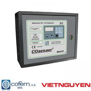 Trung tâm báo khí CO và NO2 miniCO hệ thường Cofem