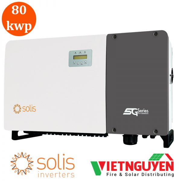 inverter hòa lưới 80kw 3 pha solis