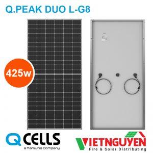 tấm pin năng lượng mặt trời Q-Cell 425w