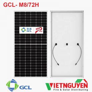 tấm pin năng lượng mặt trời GCL