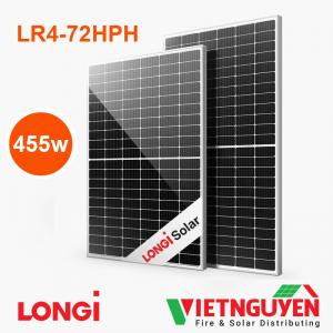tấm pin năng lượng mặt trời Longi 455w